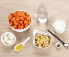 Recette Crème de carotte par thermomix - recette de la catégorie Soupes