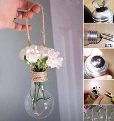 light bulb decoration .. DIY