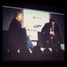 Big Wigs: Al Gore & Napster/Facebook's Sean Parker discuss using social media to change the world