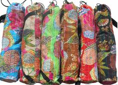 Amazing Hand made Yoga Mat Bags! Available at www.bonanza.com/booths/upsirupsi $45