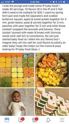 Instant Pot Baby Food Recipes For Beginners is a collection of what I personally fed my two youngest children during the weaning process. Instant Pot Baby Food, Baby Boys, Baby Life Hacks, Mom Hacks, Making Baby Food, My Bebe, Baby Eating, Baby Planning, Homemade Baby Foods