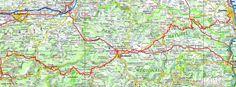GR78 Randonnée de Pamiers (Ariège) à Génos (Hautes-Pyrénées) Carcassonne