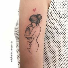 baby tattoos for moms 417779302932946645 - Source by tattoo_spirit Mommy Tattoos, Mutterschaft Tattoos, Mom Baby Tattoo, Tattoo Mama, Name Tattoos For Moms, Mother And Baby Tattoo, Motherhood Tattoos, Baby Name Tattoos, Tattoos With Kids Names