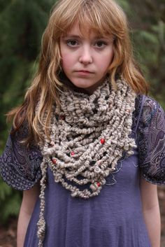 this is the scarf of my DREAMS!! by spinningbee on etsy