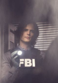 Dr. Spencer Reid. AKA Matthew Gray Gluber. Ha! See what I did there? (: