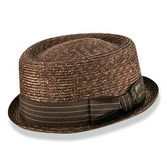 Bailey Lamar Straw Porkpie Hat | DelMonico Hatter