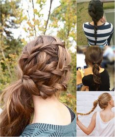 5 One Minute Basic Ponytail Hairstyles Tutorial For Daily Style
