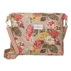 Muted floral bag