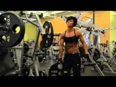 Dana Linn Bailey! What kept me motivated during my Chest work out today.