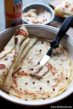 HOW TO MAKE THE PERFECT CREPES! Crepes with Coffee Mascarpone Cream