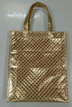 Embossed laminated non woven tote