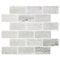 Silver Mist Honed Amalfi Limestone Wall Tile Limestone Wall