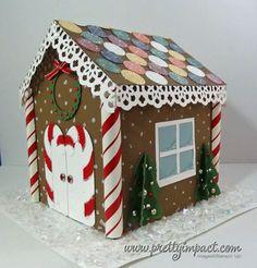 Cardboard Gingerbread House Cardboard Box Crafts