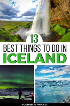 With so many things to do in Iceland it can be difficult to decide how to spend your time. Check out this list of the thirteen best things to do in Iceland to help you decide how best to spend your time in this amazing country! Iceland Travel Tips, Iceland Road Trip, Europe Travel Guide, Europe Destinations, Best Travel Guides, Travel Inspiration, Travel Ideas, Travel Jobs, Roadtrip