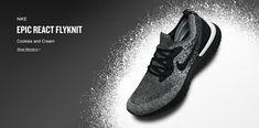 e1f627d50b25 Women s Nike Epic React Flyknit Running Shoes