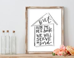 Bible Verse Printable//And if not He is still by SprigsofWisdom