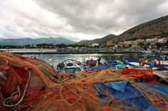 Port of Mondello, near Palermo, Sicily