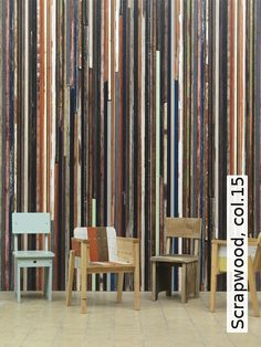 Tapete: Scrapwood, col.15 - TapetenAgentur