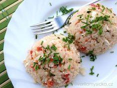 Skvělé rizoto z trouby bez námahy, které chutí potěší malé i dospělé. Risotto, Potato Salad, Potatoes, Yummy Food, Ethnic Recipes, Ariel, Food Ideas, Fitness, Bulgur