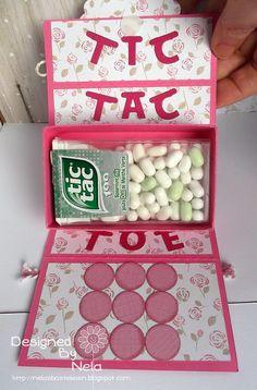 Hallo,     heute möchte ich euch eine Anleitung für ein Tic Tac Toe to go Spiel zeigen.     ***     Hello,     today I have a tutorial f o...