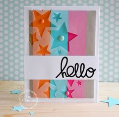 A card made with stamps & steel dies from Paper Smooches on the Paper Smooches blog.