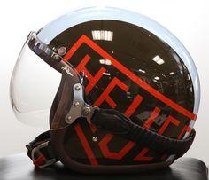 Retroworks Motorino RSD Davida Helmet Momo Roland Sands Design Scooter Helmet, Cafe Racer Helmet, Casque Bell, Roland Sands, Helmet Design, Riding Gear, Motorcycle Helmets, Motorcycle Accessories, Vespa