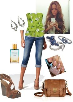 lime in the coconut, created by hmariewhite on Polyvore