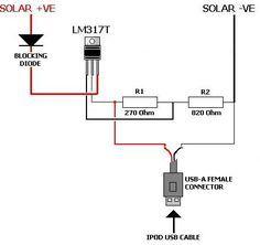 Circuito Carregador de Bateria usando Célula Solar. Este é um circuito de carregador solar via cabo USB de emergência, ele é um circuito alternativo que usa célula solar e um LM317 para regular e fazer a recarga via USB para equipamentos eletrônicos, que podem ser IPODs, celulares, MP3, tablets, etc. Pela simplicidade do circuito pode-se notar que ele não tem muito recurso, mas é o suficiente para garantir um simples carregamento de bateria. A Célula Solar deve ser de 12v a corrente deve…
