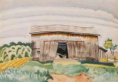 Charles Burchfield - Barn