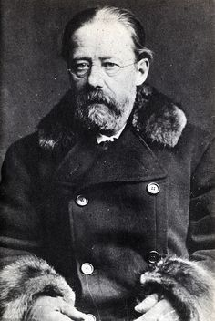 """Bedřich Smetana (2 March 1824 – 12 May 1884) was a Czech composer who pioneered the development of a musical style which became closely identified with his country's aspirations to independent statehood. He is thus widely regarded in his homeland as the father of Czech music. Internationally he is best known for his opera The Bartered Bride; for the symphonic cycle Má vlast (""""My Homeland""""), which portrays the history, legends and landscape of the composer's native land"""