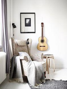 Space for creativity. #home #interiordesign