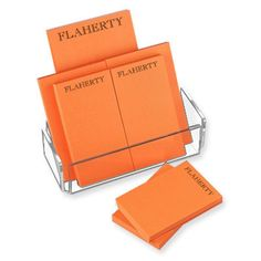 Tangerine Notepad Collection