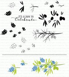 Beautiful Berries: Spring Stamp Set