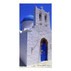 The Seven Martyrs – Sifnos Photo Greeting Card