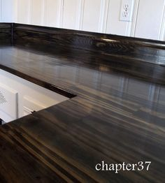 DIY wood counter tops