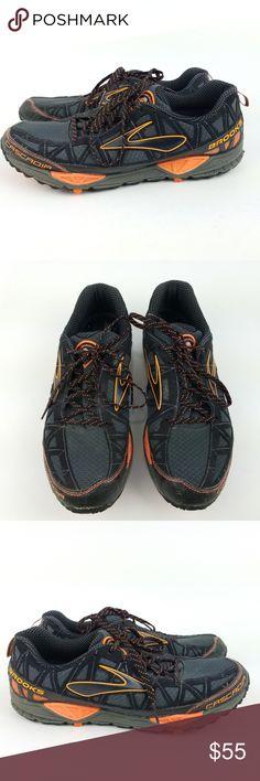 7ebde84a55e Brooks Cascadia Size 14 Mens Trail Shoes EC23