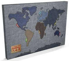 Map of the World Map Den...