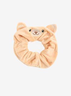 ☆ Fuzzy Bear Scrunchie ☆