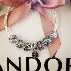 50% OFF!!! $199 Pandora Charm Bracelet Green. Hot Sale!!! SKU: CB01933 - PANDORA Bracelet Ideas
