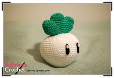 Turnip - Super Mario - Free crochet pattern - Amigurumi
