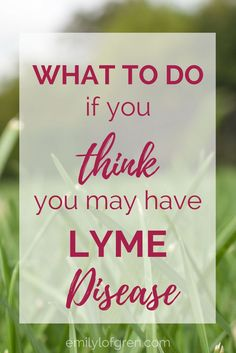 How to know if I have Lyme Disease | Lyme Disease | Symptoms of Lyme Disease | Chronic Illness | Babesia | Bartonella | Rocky Mountain Spotted Fever | Lyme Literate Medical Doctor | Lyme Disease Treatment #LymeDisease #ChronicIllness #Bartonella #Babesia