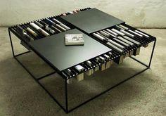 modern coffe table-book storage