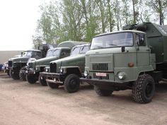 truck nva | Sonstige Parade der NVA Fahrzeuge beim Nutzfahrzeugtreffen Werdau 2006