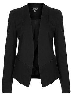 Me gusta la chaqueta porque es negro.