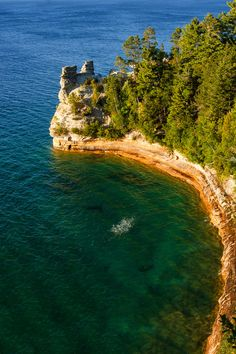 Miners Castle - Pictured Rocks National Lakeshore, Michigan