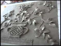 ceramic wall sculpture
