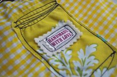 Sew Up a Canning Jar Bag to Store Canning Jar Rings
