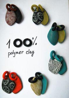 О-образные основы для сережек - Все о полимерной глине