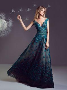 "the-fashion-dish: ""Hanna Touma Spring-Summer 2017 "" Unique Dresses, Elegant Dresses, Pretty Dresses, Evening Dresses, Prom Dresses, Summer Dresses, Formal Dresses, Formal Wear, Dresser"