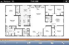 LOVE LOVE LOVE!!40X60 Metal Home Floor Plans